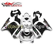 Sportfairings West White Full ABS Plastics Injection Motorcycle Fairing Kits For Kawasaki EX250R Ninja 250 Year 2008 - 2012 08 09 10 11 12 Fairings
