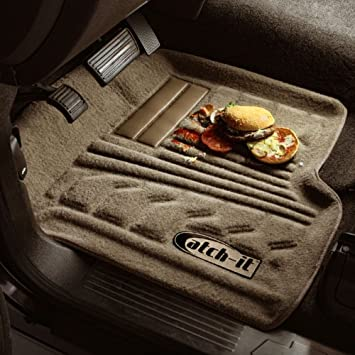 Lund 583042-B Catch-It Carpet Black Front Seat Floor Mat Set of 2