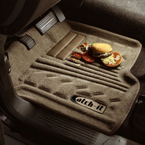 Lund 583006-G Catch-It Carpet Grey Front Seat Floor Mat Set of 2