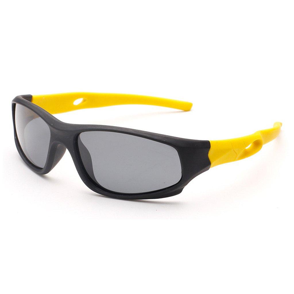 EBT Kids Polarized Sunglasses TR90 Unbreakable Wayfarer Style Age for Baby 3-10 5020