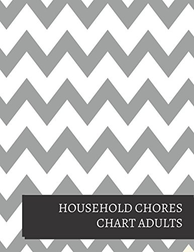 household chores chart adults journals for all 9781520900346 amazoncom books