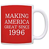 21st Birthday Gifts For All Making America Great Since 1996 Republican Mug Republican Gifts Coffee Mug Tea Cup Red
