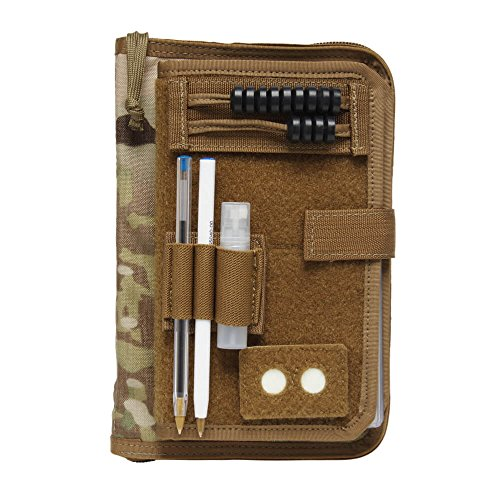 Federal Green (TAM Army Green Book Cover System with 4x6 Checklist Coyote Brown)