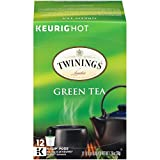 Twinings of London Green Tea K-Cups for Keurig, 12 Count (Pack of 6)