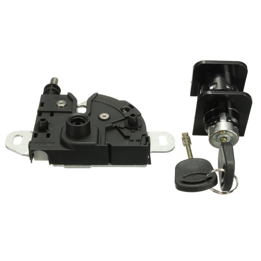 Homyl Great Performance Bonnet Lock Latch Complete Set 2 Keys for Ford Transit MK6