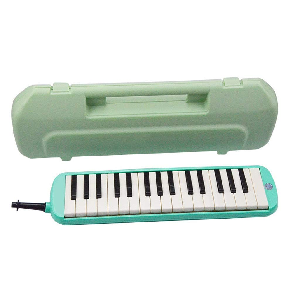 Melodica Musical Instrument Portable Hard Carrying Case Package Kids Melodica 32 Keys With Kids Musical Instrument Gift Toys For Music Lovers Beginners 2 Mouthpieces Tube Sets for Music Lovers Beginne by Shirleyle-MU (Image #1)