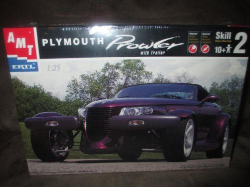 ERTL  Plymouth Prowler With Trailer Model Kit