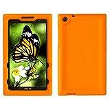 Bobj for ASUS ZenPad Z170C, Z170CG, Z170MG, P01Z – BobjGear Protective Tablet Cover (Outrageous Orange)