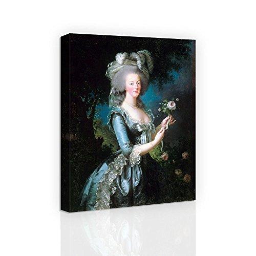 Marie-Antoinette dit «à la Rose» - Famous Oil Painting Reproduction Canvas Print Wall Art for Home Decoration
