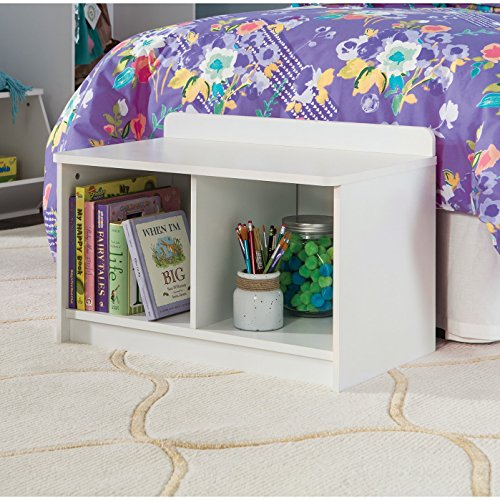 ClosetMaid 1494 KidSpace Small Storage Bench, White - Small Storage Bench