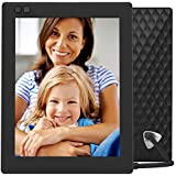 NIXPLAY Seed WiFi Digital Photo Frame 8 inch W08D, Black. Show Photos on Your Frame via Mobile App or Email. Display HD Pictures and Videos. Electronic Smart Picture Frame with Motion Sensor