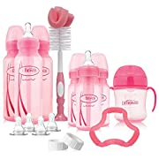 Dr. Brown's Options Baby Bottles Gift Set, Pink