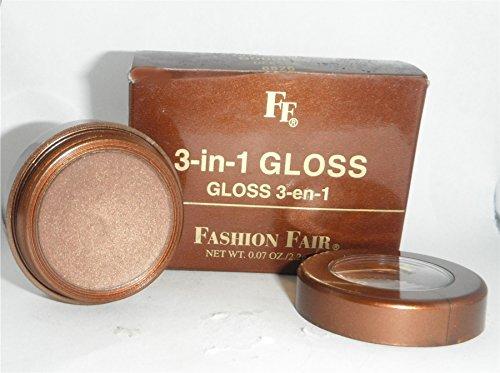 Fashion Fair 3 in 1 Gloss Pot for Lips Eyes and Cheeks Goddess 8826 (Fashion Fair Lip Gloss)