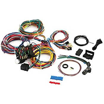 Amazon.com: EZ Wiring -21 Standard Color Wiring Harness ... on
