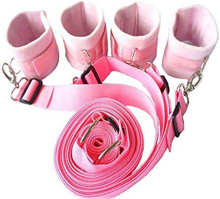 FELICIOO Bettgurte Spaß Bündelt Erwachsene Produkte (Farbe : Rosa)