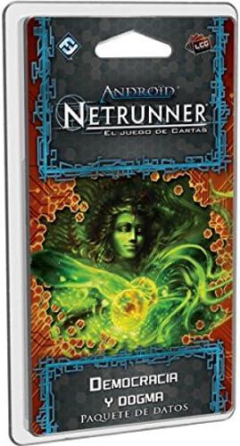 Android Netrunner LCG - Democracia y Dogma, juego de cartas (Edge Entertainment EDGADN32) , color/modelo surtido: Amazon.es: Juguetes y juegos