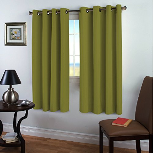 Blackout Darkening Curtains Insulated TURQUOIZE