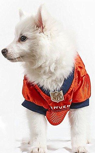 Image of Pets First NFL DENVER BRONCOS DOG Jersey, XX-Large