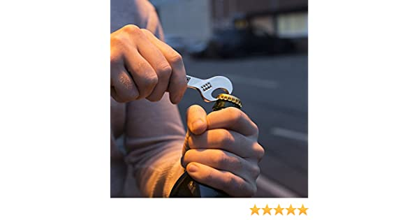 Fast & Furious Keychain with Bottle Opener Wrench Thumbs Portachiavi
