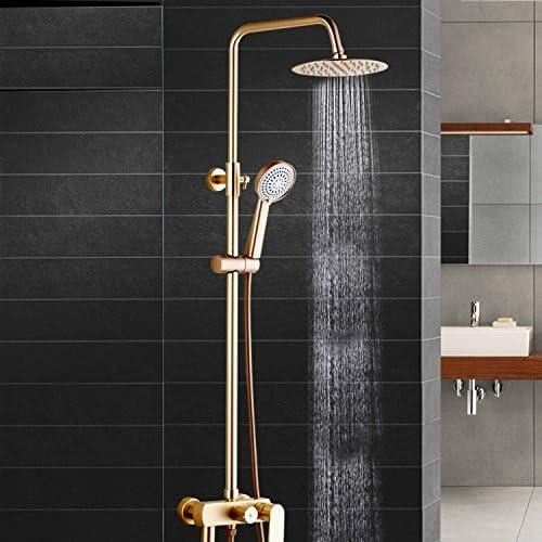 SAEJJ-Grifo de la ducha Espacio de aluminio dorado , ascensor y ...