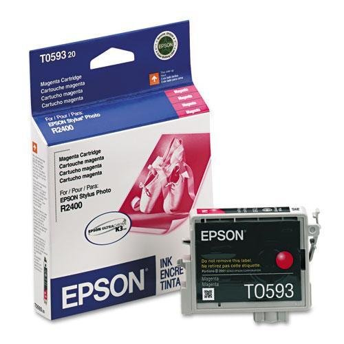 - EPSON America T059320 T059320 UltraChrome K3 Ink, 450 Page-Yield, Magenta