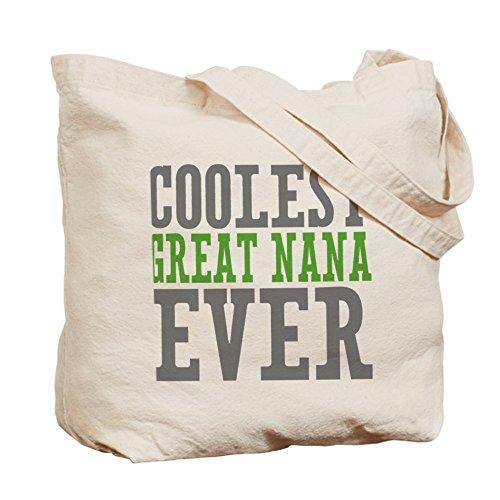 CafePress Coolest Great Nana Tote Bag - Standard Multi-color by CafePress
