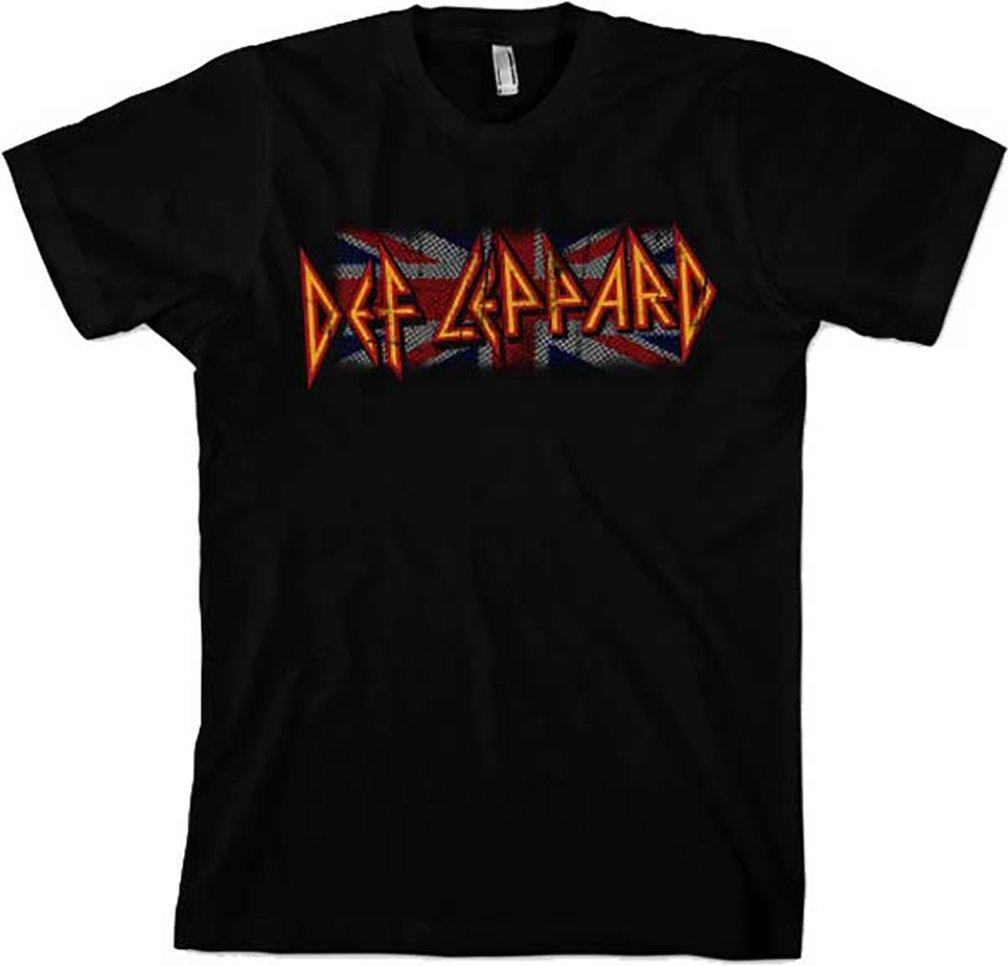 Def Leppard Union Logo S Tshirt Black