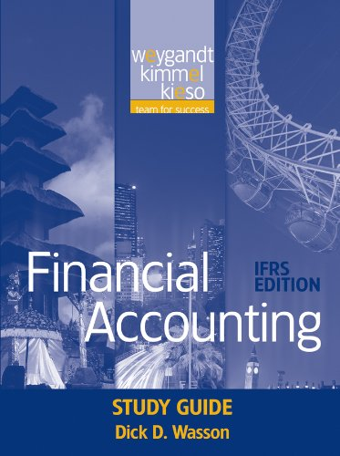 Financial Accounting, Study Guide: IFRS