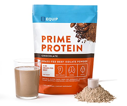 100% Grass Fed Beef Protein Powder by Equip