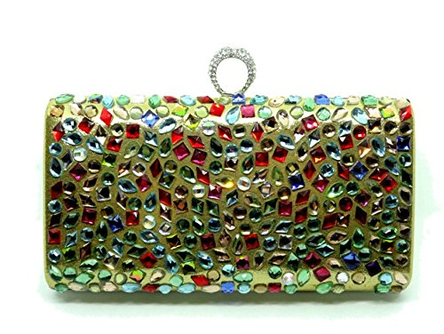 Rossa paris bejeweled clutch amazon clothing accessories