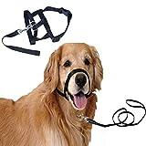 italian muzzle size 10 - Nylon Breathing Breathable Pet Mouth Sleeve Mask Adjustable Dog Mouth Sleeve