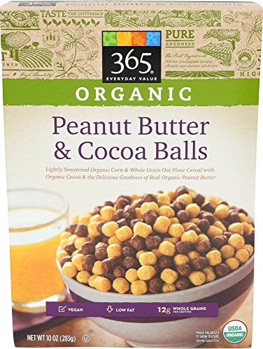 365 Everyday Value, Organic Peanut Butter and Cocoa Balls, 10 Ounce 51oT1iYCQQL