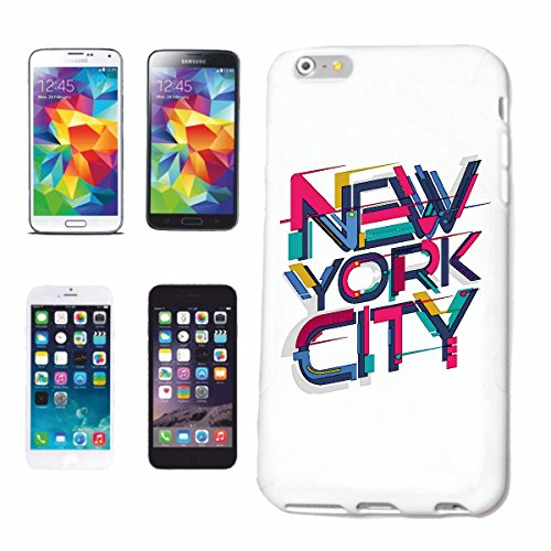 "cas de téléphone iPhone 6+ Plus ""NEW YORK CITY GRAFFITI AMÉRIQUE USA OBAMA SPIELCASINO"" Hard Case Cover Téléphone Covers Smart Cover pour Apple iPhone en blanc"