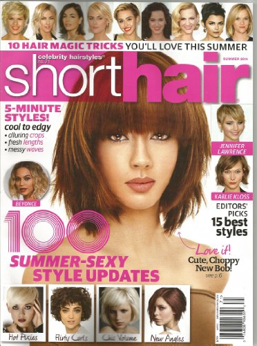 Celebrity Hairstyles: Short Hair (Summer 2014, No. 71) (Hair Celebrity Magazine Styles)