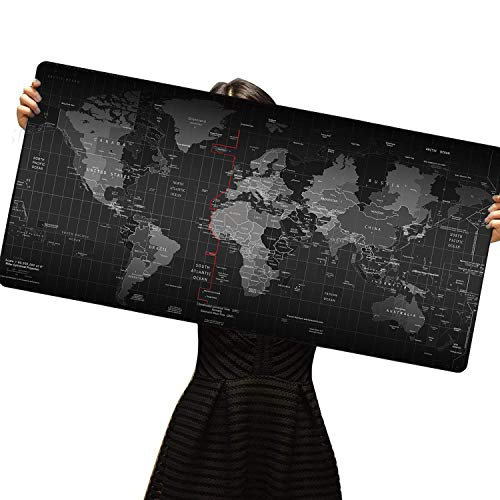 - Cmhoo XXL Gaming Mouse Mat Extended & Extra Large Mouse Pad (8040 Map)