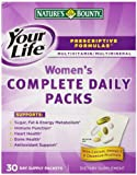 Nature's Bounty Prescriptive Formula Optimal Women's Vitamin Pack, 30 Day Supply Packets