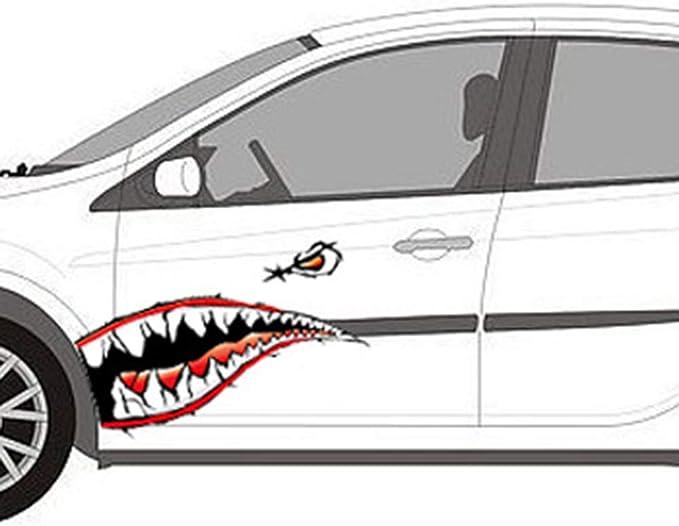 Shark Diy 3D Sticker Car Sticker Anywhere Waterproof Motorcycle Car Styling HO