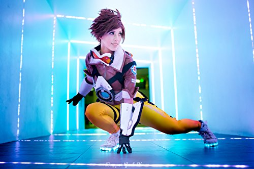 Overwatch Tracer cosplay poster
