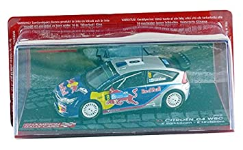 Promocar - pro10387 - Ford C4 WRC - Rally Turkey 2010 - Escala 1/43 - Azul/Gris: Amazon.es: Juguetes y juegos