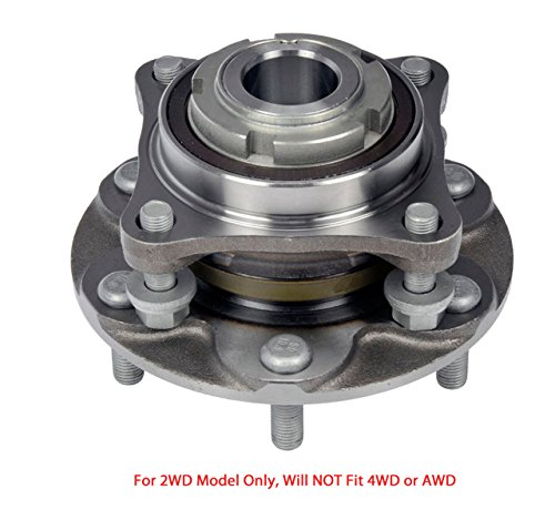 DTA Front Wheel Hub Bearing Full Assembly NT5150402WG3 Fits Front Left or Right Toyota 4Runner Tacoma FJ Cruiser Hilux 2WD Only, Will NOT Fit 4WD. Replaces Dorman # 950-004 ()