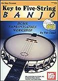 Key to Five-String Banjo, Pat Cloud, 078663264X