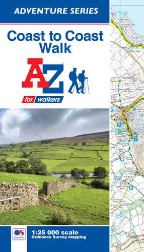 Coast to Coast Walk Adventure Atlas 1:25K A-Z]()