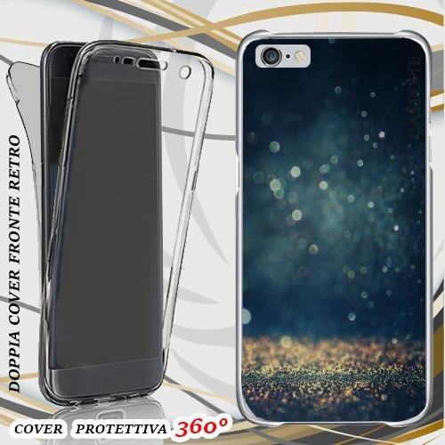 CUSTODIA COVER CASE GLITTER SHINE PER IPHONE 6 FRONT BACK