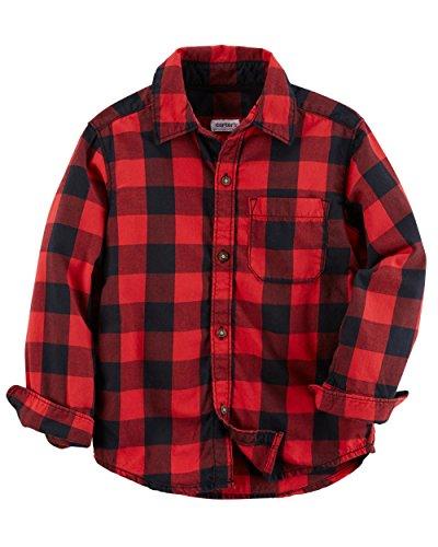 Plaid Boys T-Shirt - 4