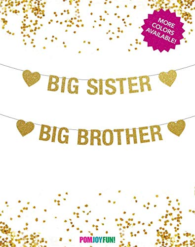 Big Sister Banner, Big Brother Banner, Sister or Brother, Big Sister Announcement, Big Brother Announcement, Big Sister Little Brother ()