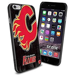 Calgary Flames NHL, #1387 Hockey iPhone 4s Case Protection Scratch Proof Soft Case Cover Protector