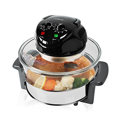 NutriChef Convection Oven Cooker - Healthy Kitchen Countertop Cooking ...