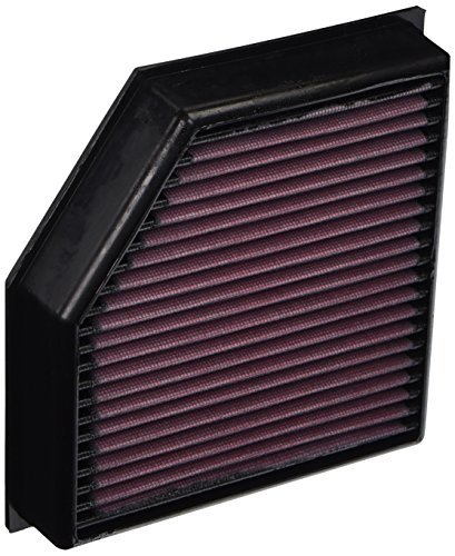 K&N 33-2491 High Performance Replacement Air Filter by K&N