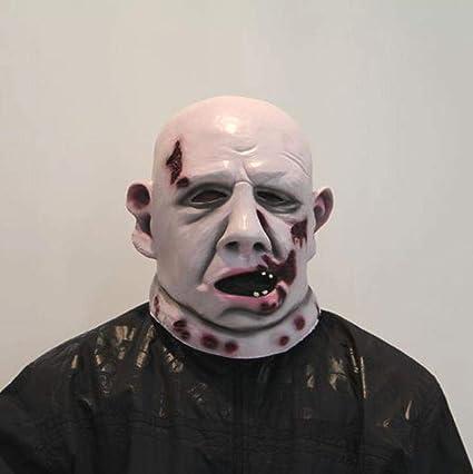 Littlefairy Máscara Halloween,Disfraz de Halloween Fiesta Noche Fiesta Zombie Gordo Miedo Miedo Mascara