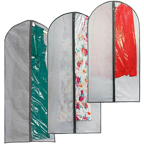 Garment Racks For Dance Costumes (Perfect Garment Bags for Suits - Dress Bag Set for Easy Storage or Travel)